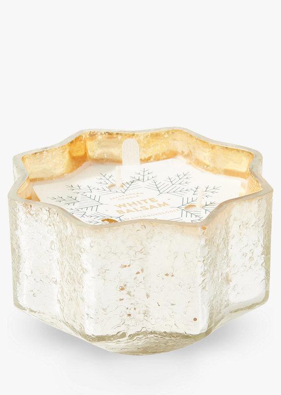 Capri Blue Star Candle White Balsam