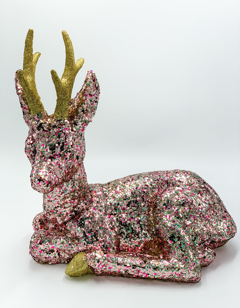 Cody Foster & Co Multi-Colored Glitter Forest Fawn