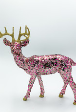 Cody Foster & Co Pixelated Multi-Colored Glitter Deer
