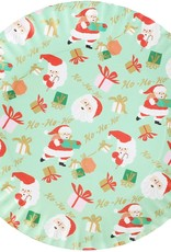 """One Hundred 80 Degrees Melamine Santa """"Paper"""" Platter, 16"""""""