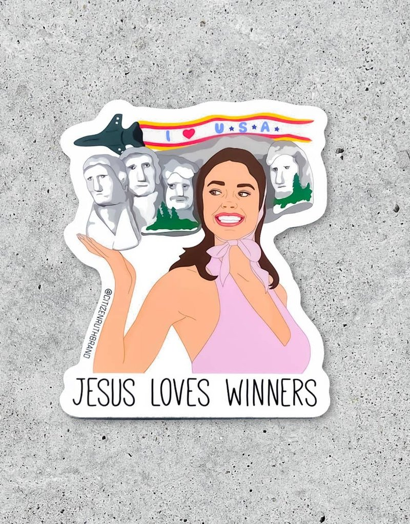 Citizen Ruth Drop Dead Gorgeous Sticker