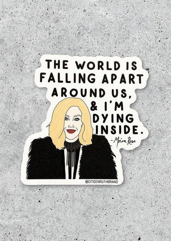 Citizen Ruth Moira Schitt's Creek Sticker