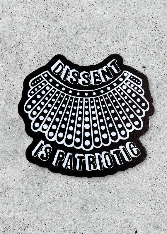 Citizen Ruth Dissent is Patriotic Sticker