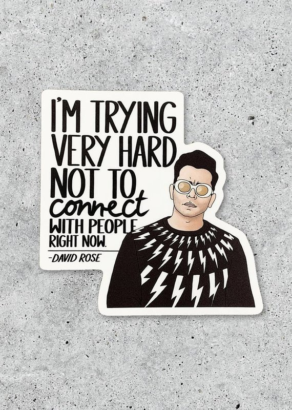 Citizen Ruth David Connect Sticker