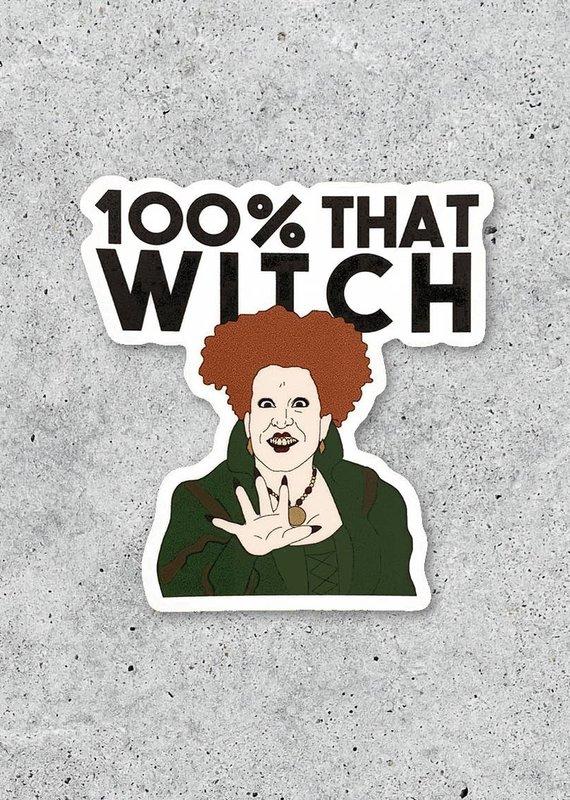 Citizen Ruth Hocus Pocus Winifred Sticker