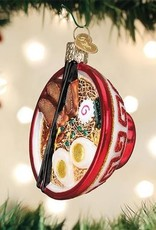 Old World Christmas Bowl Of Ramen Ornament