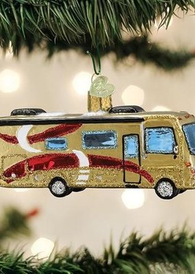 Old World Christmas Class A Motorhome Ornament