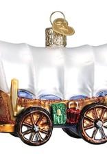 Old World Christmas Covered Wagon Ornament