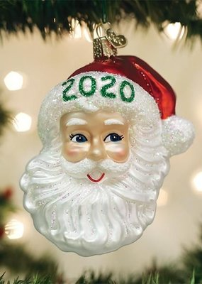 Old World Christmas 2020 Nostalgic Santa Ornament