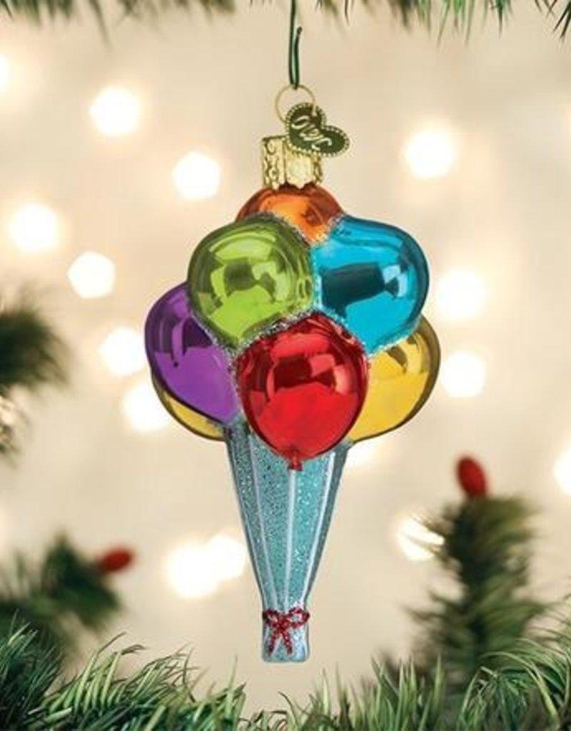 Old World Christmas Balloons Ornament