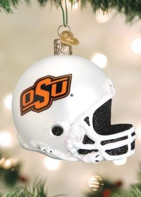 Old World Christmas OK State Football Ornament