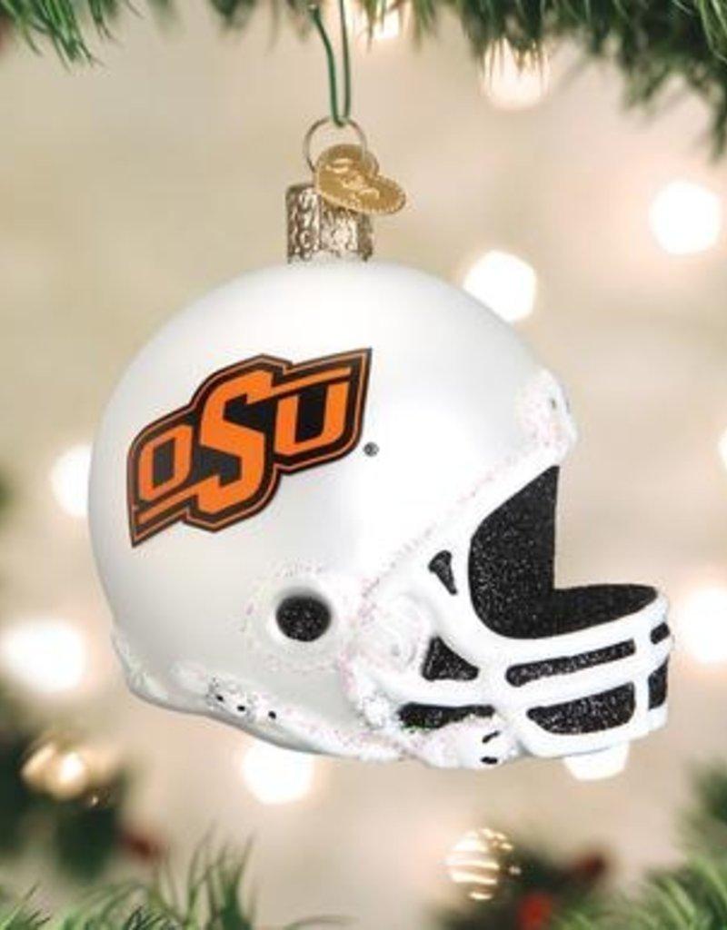 Old World Christmas OK State Football Ornament