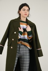 Molly Bracken Military Style Trench Coat