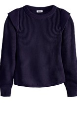 525 America Pullover Shoulder Detail Sweater