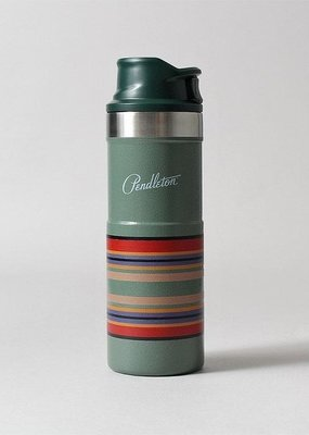 Pendleton Trigger Action Travel Mug Hammertone Green