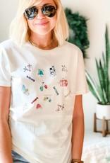 Holiday Doodles T-shirt