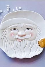 """One Hundred 80 Degrees Papa Noel Cookie Platter 14"""""""