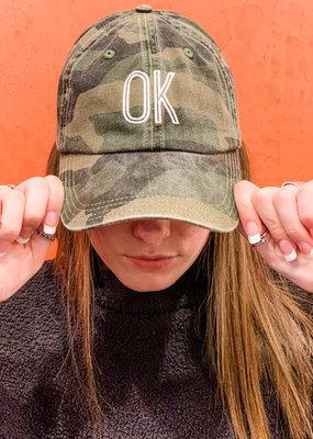 Charlie Southern State Camo Hat, Oklahoma