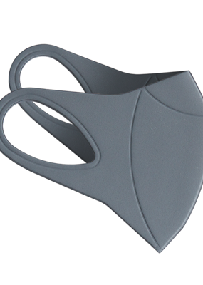 Hmnkind Antibacterial Performance Mask - Grey | L