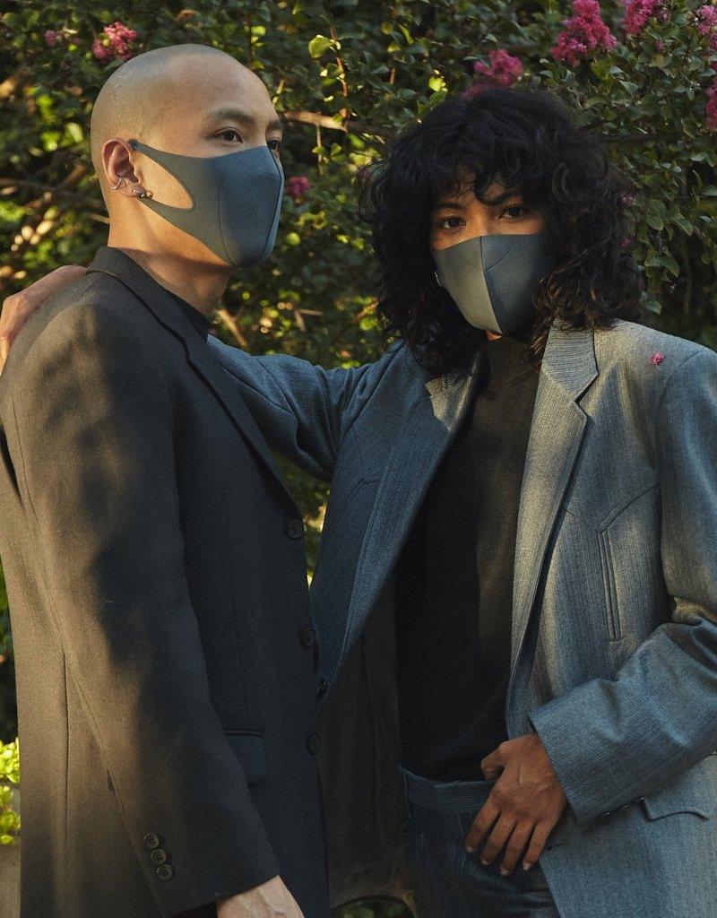 Hmnkind Antibacterial Performance Mask - Grey | L