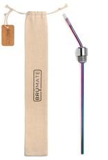 BrüMate Infinity Winesulator Straw Rainbow Titanium