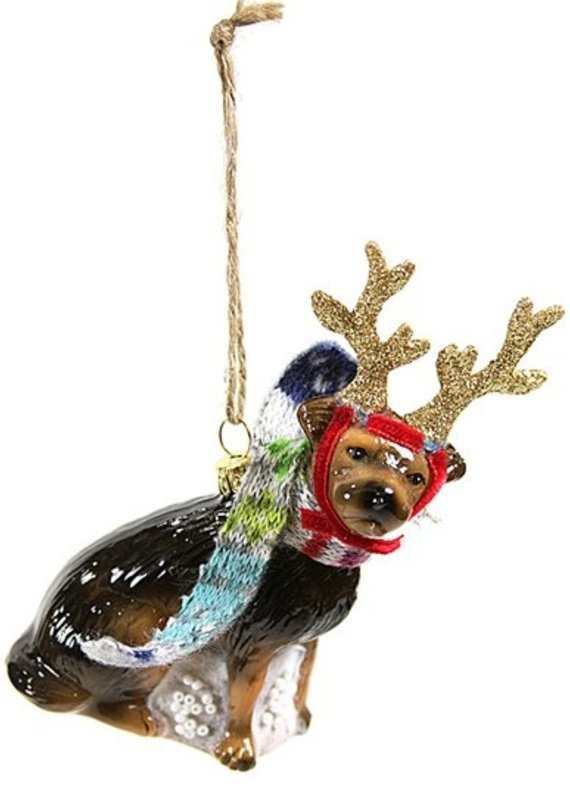 Cody Foster & Co Rein-Dog Ornament