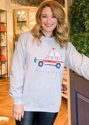 Wooden Nickel 2020 Holiday Sweatshirt