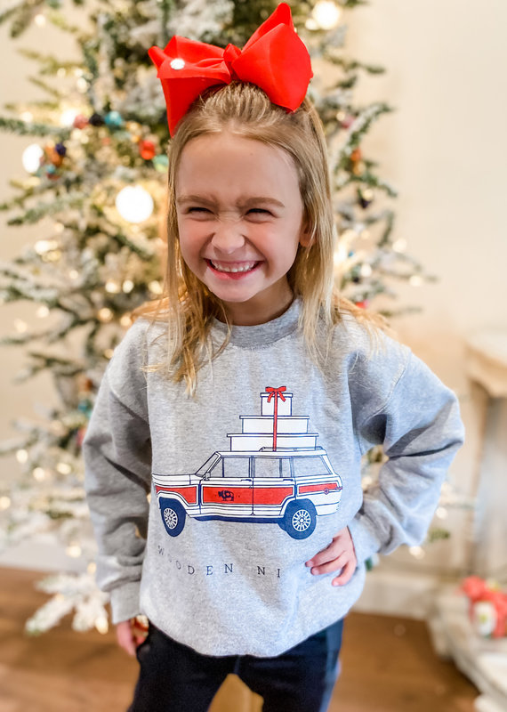 Wooden Nickel Youth 2020 Holiday Sweatshirt