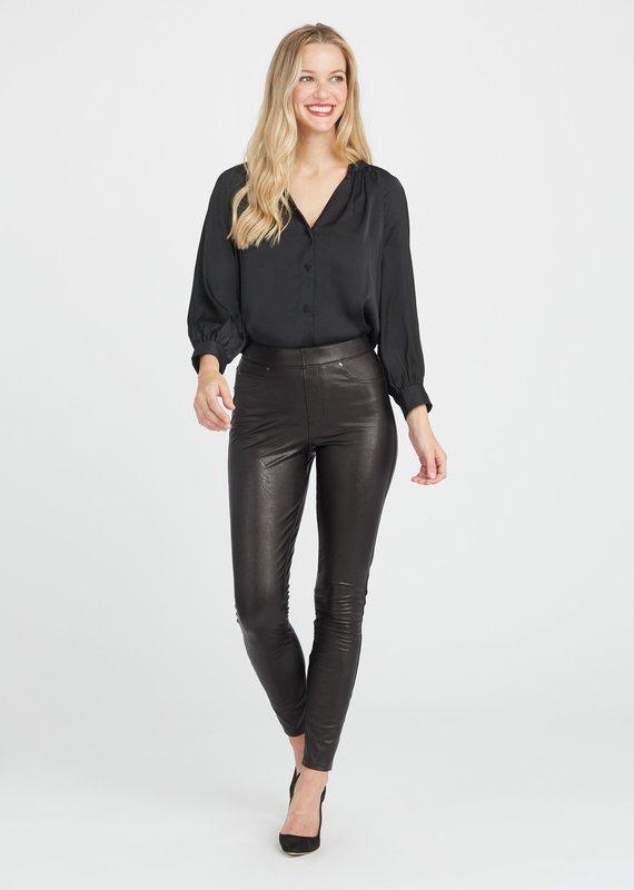 SPANX ® Leather Like Skinny Pant