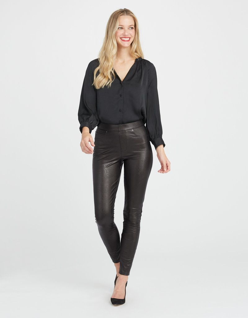 SPANX ® Leather Like Skinny Pant
