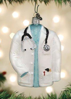 Old World Christmas Doctor's Coat