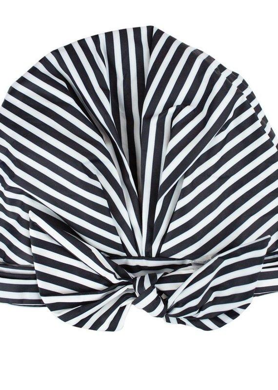 Luxe Shower Cap - Stripes
