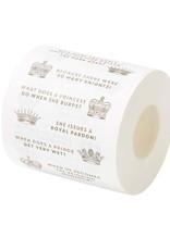 Christmas Entertainment Royal Jokes Toilet Roll