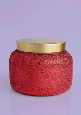 Capri Blue 48oz Red Glam Jar Volcano NO. 6