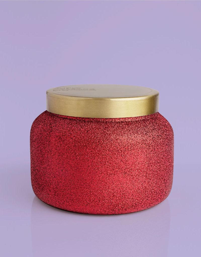 Capri Blue 48oz Red Glam Jar Volcano NO. 6