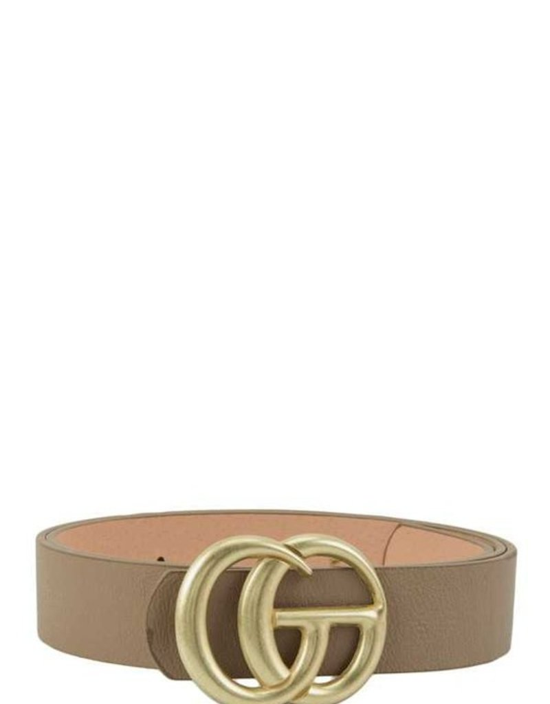 Buffalo Trading Co. The Belt, Taupe