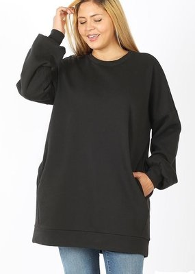 Buffalo Trading Co. Favorite Things Sweatshirt Tunic