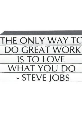 Steve Jobs Quote/ Black Cover 5 Vol.