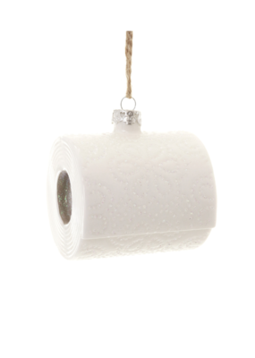 Cody Foster & Co Toilet Paper Ornament