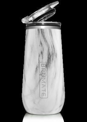 BrüMate Champagne Flute 12oz Carrara