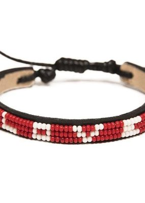 Love Is Project Skinny Love Bracelet Red Regular
