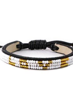 Love Is Project Skinny LOVE Bracelet - White Gold Regular