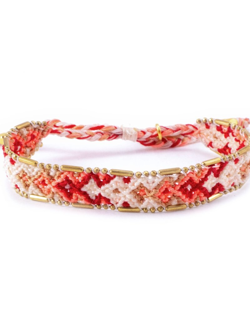Love Is Project Bali Friendship Bracelet Desert Sandstone