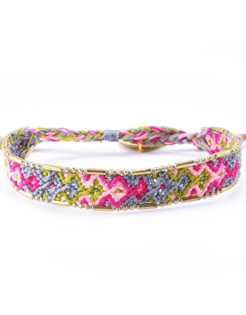 Love Is Project Bali Friendship Bracelet Bloom Garden