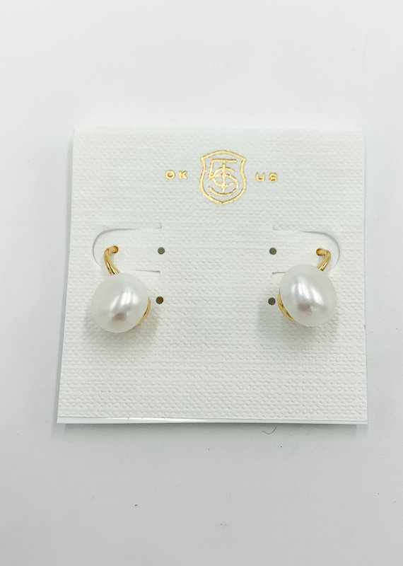 Buffalo Trading Co. Special Pearl Stud