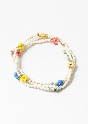 Buffalo Trading Co. Daisie's Bracelet White