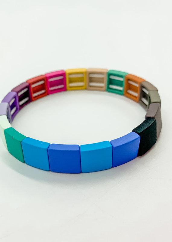Buffalo Trading Co. Lego Heart Bracelet