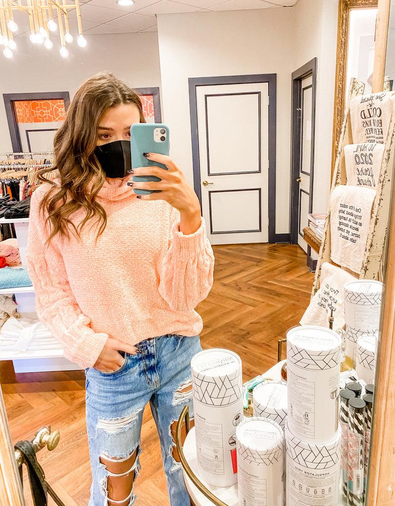 Mink Pink Jane Roll Sweater
