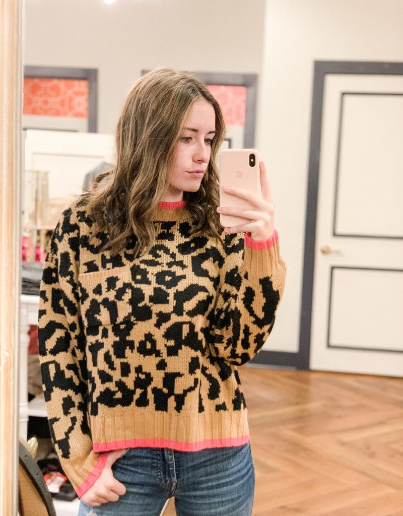 Buffalo Trading Co. Gwen Leopard Sweater