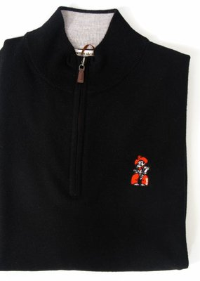 Merino 1/4 Zip Collegiate Sweater